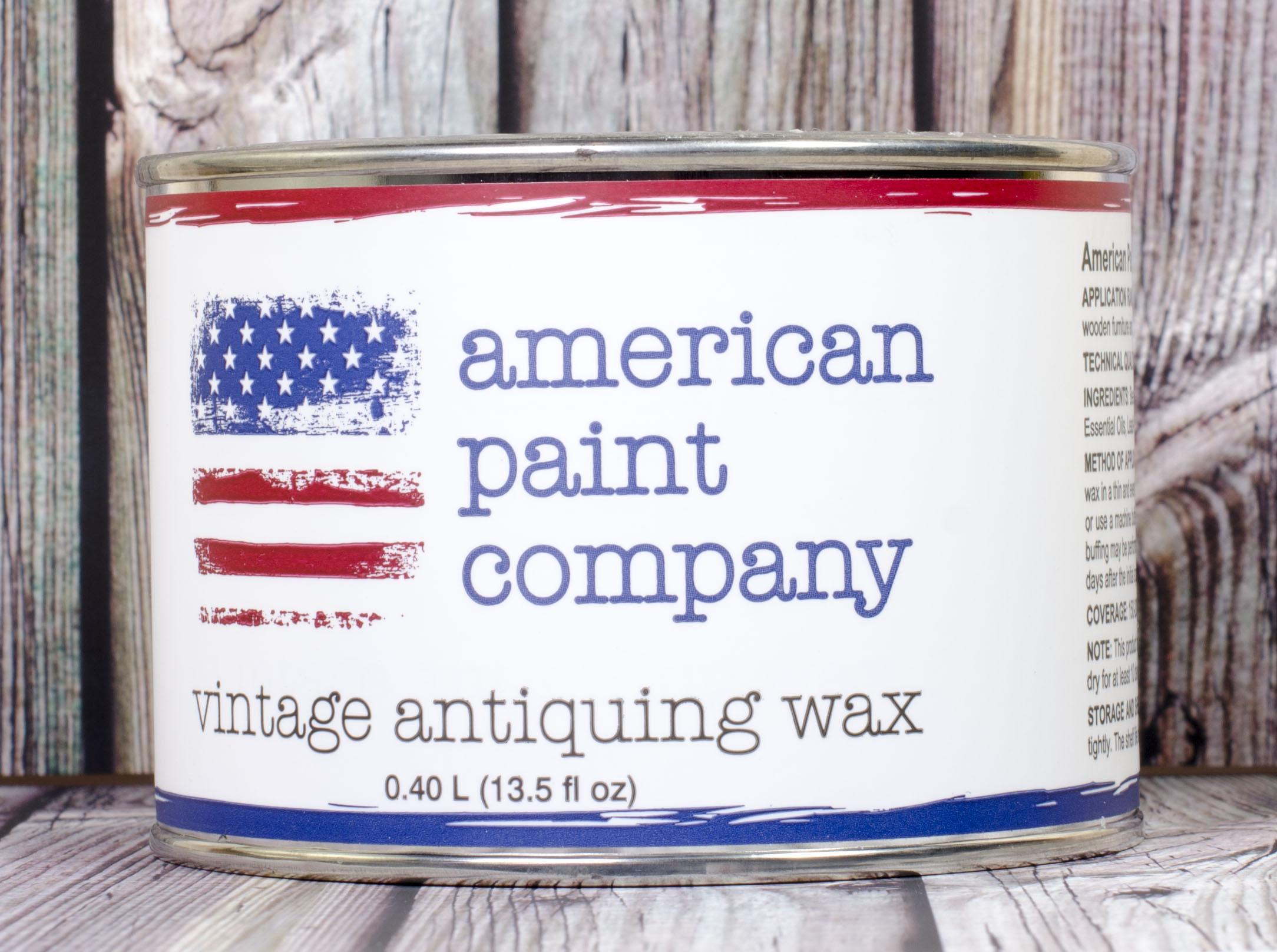 American Paint Company Black Wax