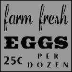 Stencil Farm Fresh