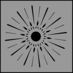 Stencil Starburst